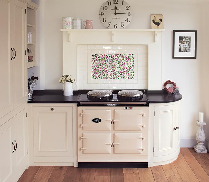 3-oven AGA in cream